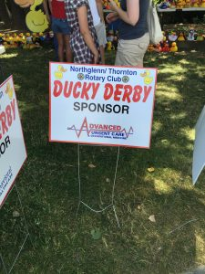 7th Annual Northglenn/Thornton Rotary Club's Ducky Derby, Advanced Urgent Care & Occupational Medicine