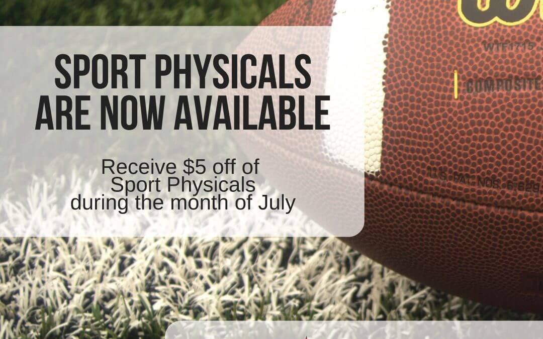 Ensuring Athletes are Prepared with their Sport Physicals by August 6th