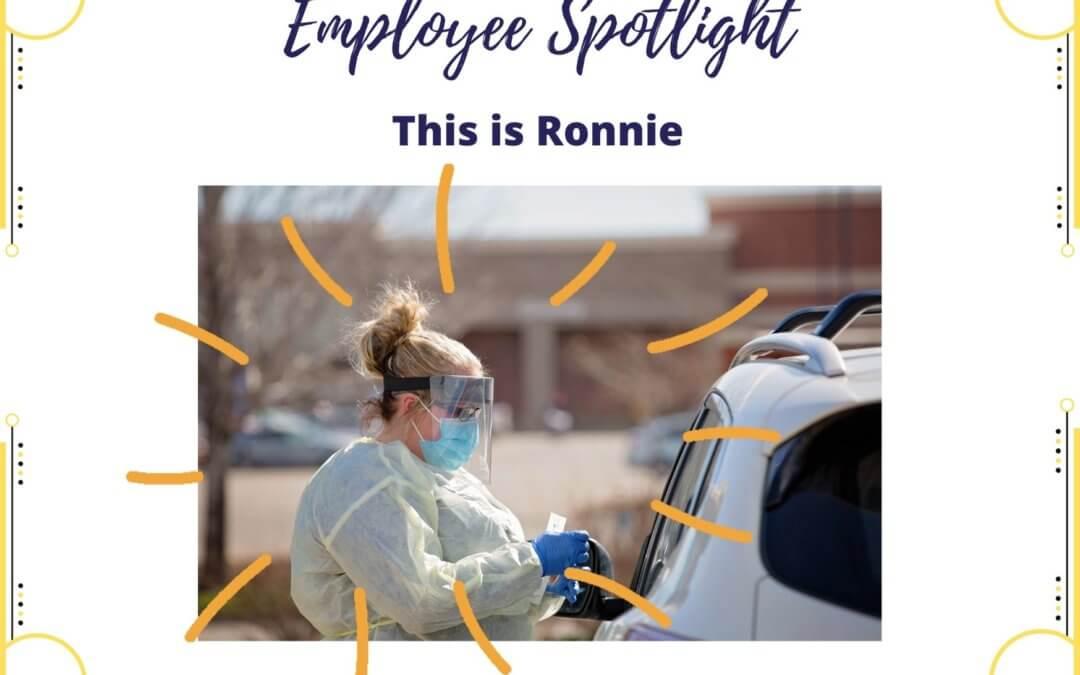 Employee Spotlight: Ronnie