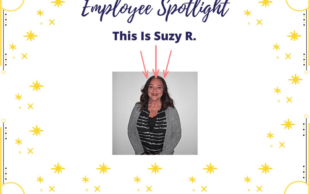 Employee Spotlight: Suzy Rudroff